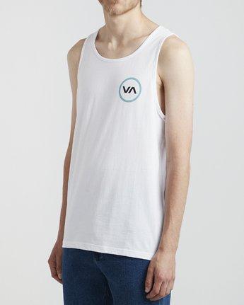 2 VA Mod - T-Shirt for Men White S1SGRBRVP0 RVCA