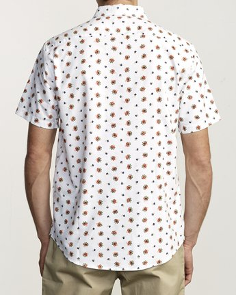 2 Thatll Do Print - Printed Shirt for Men White S1SHRBRVP0 RVCA