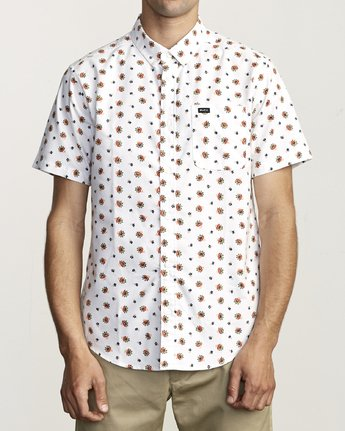 1 Thatll Do Print - Printed Shirt for Men White S1SHRBRVP0 RVCA