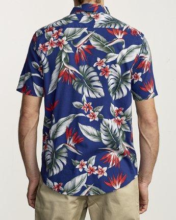 2 Montara - Aloha Shirt for Men Blue S1SHRCRVP0 RVCA