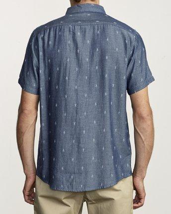 4 Thatll Do Dobby - Shirt for Men Blue S1SHRDRVP0 RVCA