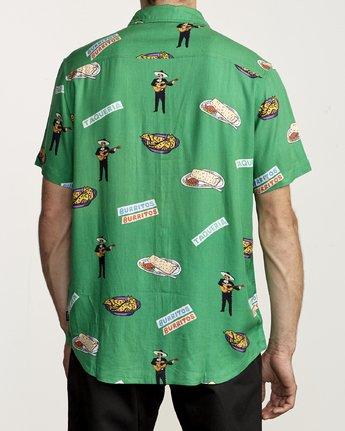 1 Hot Fudge - Printed Short Sleeve Shirt for Men  S1SHRJRVP0 RVCA