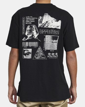 8 Lost Souls - Graphic T-Shirt for Men Black S1SSRARVP0 RVCA