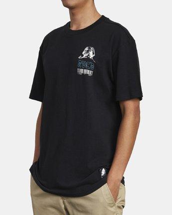 6 Lost Souls - Graphic T-Shirt for Men Black S1SSRARVP0 RVCA