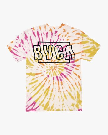 1 Swerve - Tie-Dye T-Shirt for Men  S1SSRERVP0 RVCA