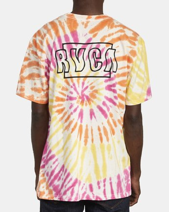 6 Swerve - Tie-Dye T-Shirt for Men  S1SSRERVP0 RVCA