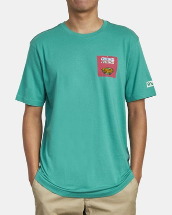 3 Hot Fudge Taqueria - Graphic T-Shirt for Men  S1SSRFRVP0 RVCA