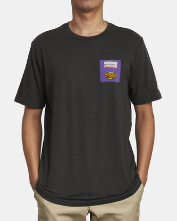 3 Hot Fudge Taqueria - Graphic T-Shirt for Men Black S1SSRFRVP0 RVCA
