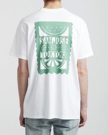 5 Hot Fudge La Rosa - T-Shirt for T-Shirt White S1SSRGRVP0 RVCA