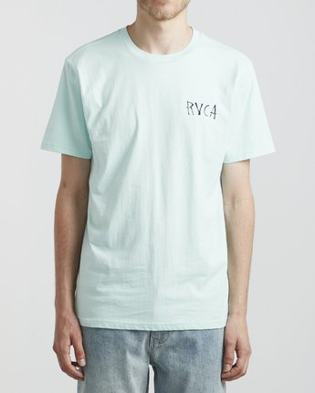 2 Dm Tiki - T-Shirt for Men Blue S1SSRIRVP0 RVCA