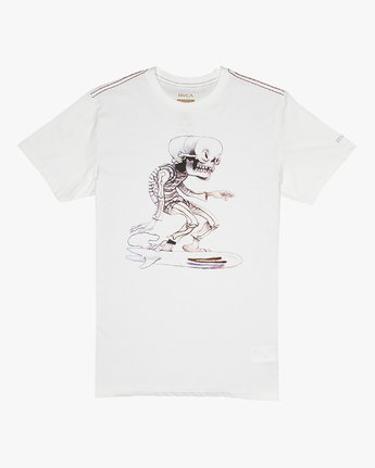 Jeff McMillan Skull Surfer - T-Shirt for T-Shirt  S1SSRJRVP0