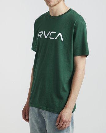 3 Big RVCA - T-Shirt for Men Green S1SSRPRVP0 RVCA