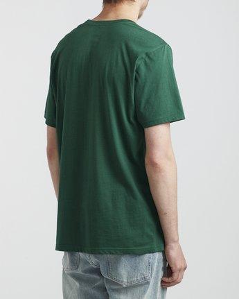 4 Big RVCA - T-Shirt for Men Green S1SSRPRVP0 RVCA