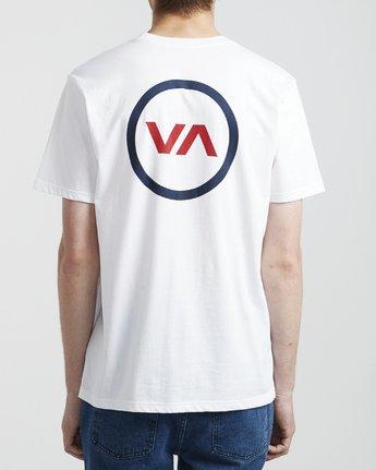 5 VA Mod - T-Shirt for Men White S1SSRQRVP0 RVCA