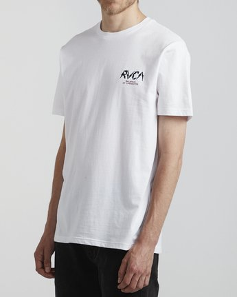 3 Parker - T-Shirt for Men White S1SSRSRVP0 RVCA