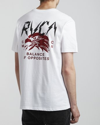 4 Parker - T-Shirt for Men White S1SSRSRVP0 RVCA