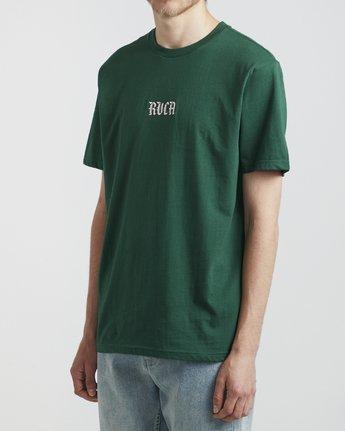 3 Benjamin Jeanjean Skull Rabbit - T-Shirt for Men Green S1SSRWRVP0 RVCA