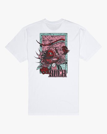0 Roberto Redondo Lizard Wizard - T-Shirt for Men White S1SSRYRVP0 RVCA