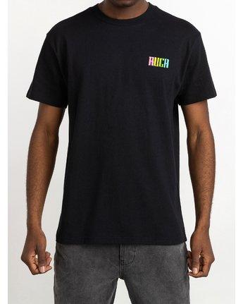1 Roberto Redondo Lizard Wizard - T-Shirt for Men Black S1SSRYRVP0 RVCA