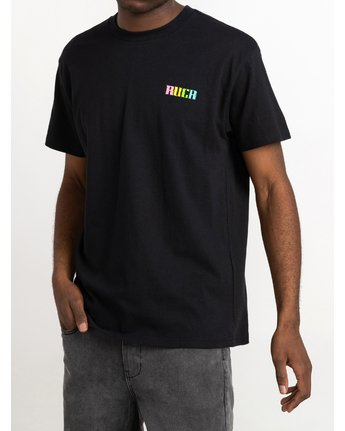 2 Roberto Redondo Lizard Wizard - T-Shirt for Men Black S1SSRYRVP0 RVCA