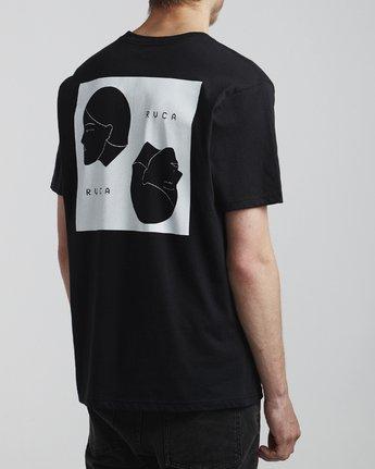 4 Johanna Olk Johannas Heads - T-Shirt for Men Black S1SSSBRVP0 RVCA
