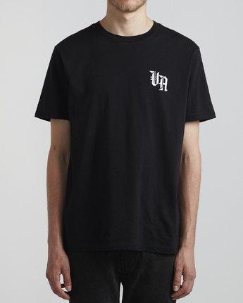 2 Benjamin Jeanjean Croco - T-Shirt pour Homme Noir S1SSSFRVP0 RVCA