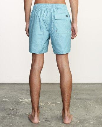 "4 Opposites 17"" - Elastic Waist Shorts for Elastic Waist Shorts  S1VORBRVP0 RVCA"