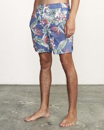 "2 Controller 17"" - Elastic Waist Shorts for Elastic Waist Shorts  S1VORCRVP0 RVCA"