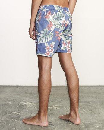 "3 Controller 17"" - Elastic Waist Shorts for Elastic Waist Shorts  S1VORCRVP0 RVCA"