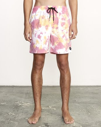Manic Elastic  - Tie-Dye Elastic Waist Short for Men  S1VORERVP0
