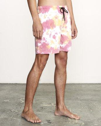 5 Manic Elastic  - Tie-Dye Elastic Waist Short for Men  S1VORERVP0 RVCA