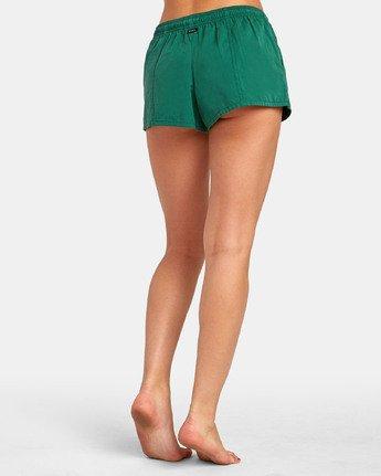 2 Synced Up - Bade-Shorts für Damen Grün S3BSRARVP0 RVCA