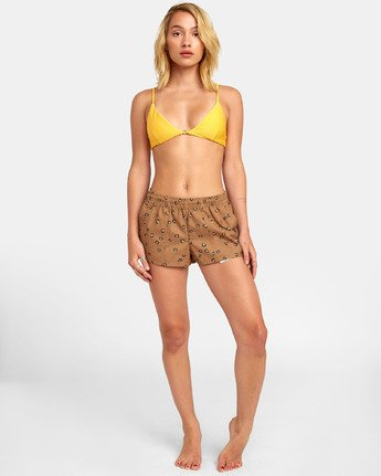 0 Synced Up - Swim Shorts for Women  S3BSRARVP0 RVCA