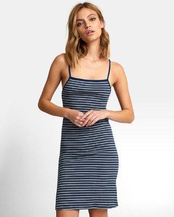 2 Bianca Dress - Robe midi à rayures pour Femme  S3DRRHRVP0 RVCA
