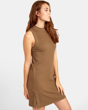2 Lemmon Dress - Robe pour Femme  S3DRRIRVP0 RVCA