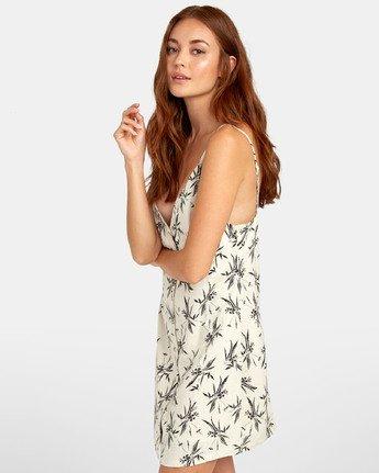 2 Aaron - Printed Mini Dress for Women Beige S3DRRNRVP0 RVCA