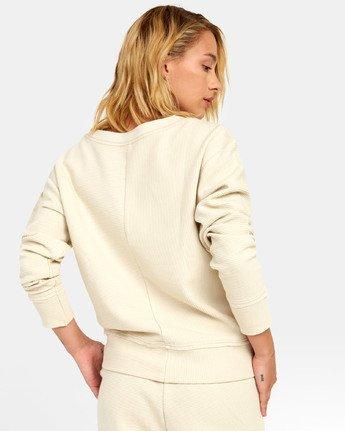 4 Maddy Top - Sweatshirt for Women Beige S3FLRDRVP0 RVCA