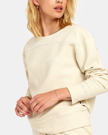 6 Maddy Top - Sweatshirt for Women Beige S3FLRDRVP0 RVCA