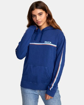 1 Cannonball - Sweatshirt pour Femme Bleu S3HORARVP0 RVCA