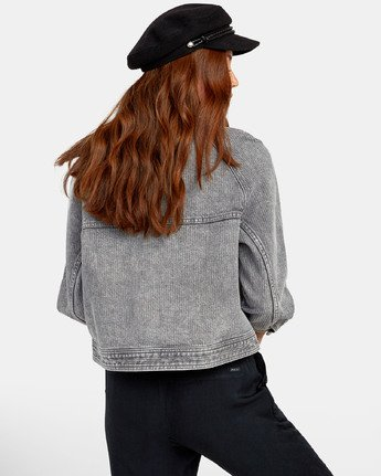 4 Kelton  - Denim Jacket for Women  S3JKRARVP0 RVCA