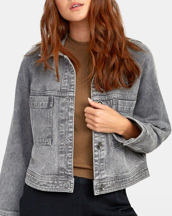 5 Kelton  - Denim Jacket for Women  S3JKRARVP0 RVCA