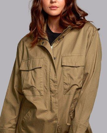 6 Mountain  - Oversized Jacket for Women  S3JKRBRVP0 RVCA