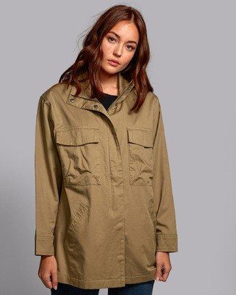 1 Mountain  - Oversized Jacket for Women  S3JKRBRVP0 RVCA