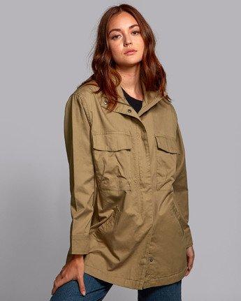 2 Mountain  - Oversized Jacket for Women  S3JKRBRVP0 RVCA
