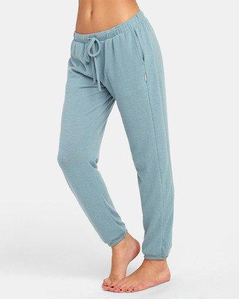 3 Kickback - Pantaloni Lounge da Donna Gray S3PTRBRVP0 RVCA