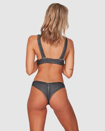 Salt Wash Cheeky - Rib Knit Cheeky Bikini Bottoms for Women  S3SBRCRVP0