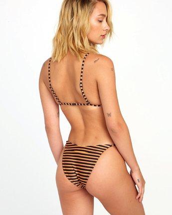 1 Bondi Stripe French - Textured Stripe Bikini Bottoms for Women Blue S3SBRJRVP0 RVCA