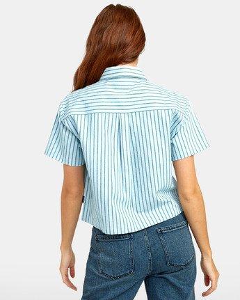 3 Jefferson - Striped Shirt for Striped Shirt  S3SHRDRVP0 RVCA