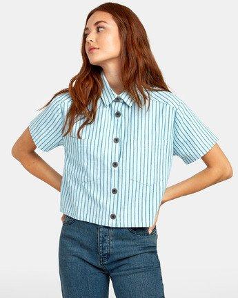 1 Jefferson - Striped Shirt for Striped Shirt  S3SHRDRVP0 RVCA