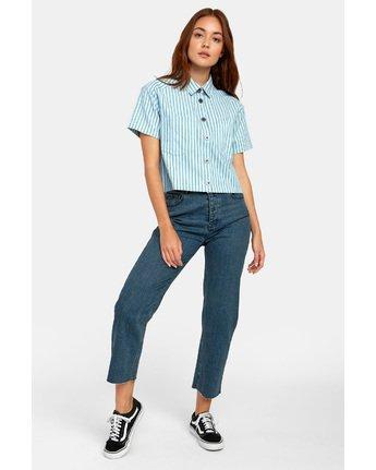 5 Jefferson - Striped Shirt for Striped Shirt  S3SHRDRVP0 RVCA